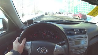 2011 Toyota Camry R4 POV Test Drive