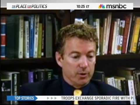Rand Paul on Civil Rights Act of 1964 - May 20, 2010