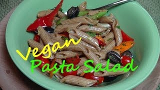Pasta Salad With Balsamic Vinaigrette - Vegan Recipe