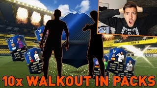 OMG! 10x WALKOUT in TOTY PACK OPENING ⛔️😱 FIFA 17 PACKLUCK ULTIMATE TEAM !!