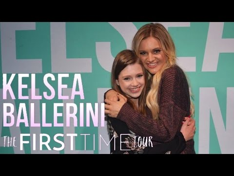 Meeting Kelsea Ballerini + The First Time Tour Vlog  Rosemont, IL!