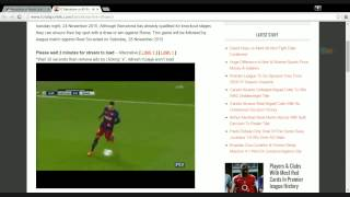 Fc barcelona vs as roma live stream ...