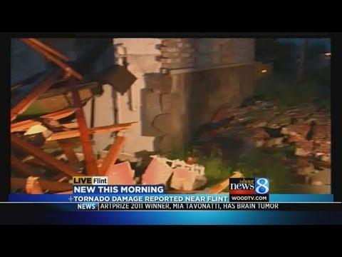 Tornadoes hit Flint area