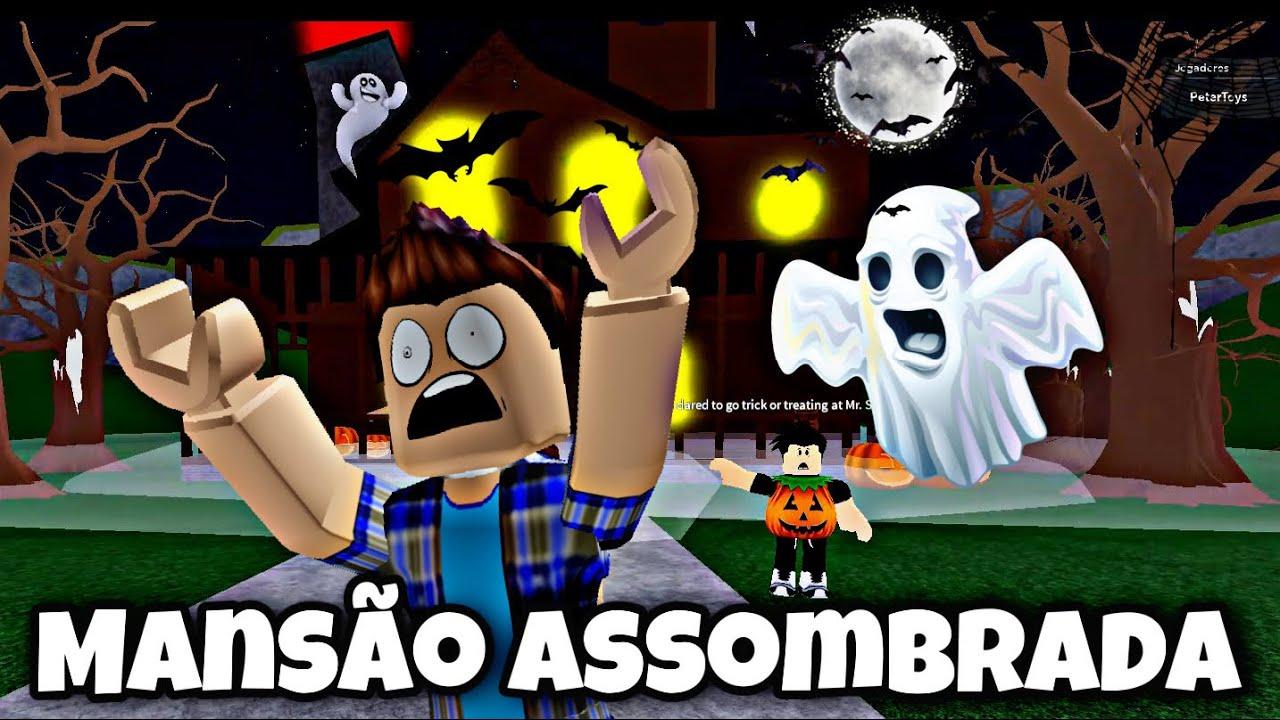 ROBLOX MANSÃO MAL ASSOMBRADA CHEIA DE TROLLAGENS PETER TOYS