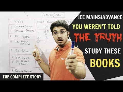 JEE Mains/Advanced - You Weren't Told The Truth | STUDY THESE BOOKS