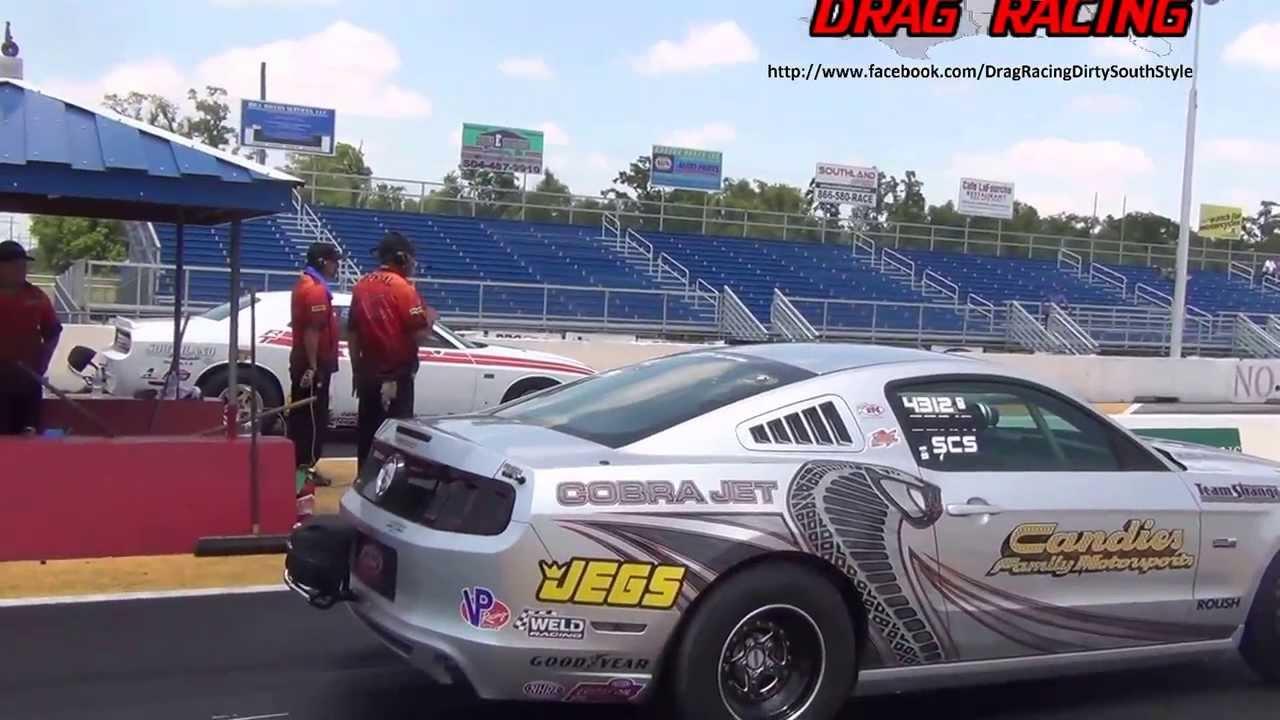 Silver cobra jet vs v10 drag pack challenger at no problem raceway youtube