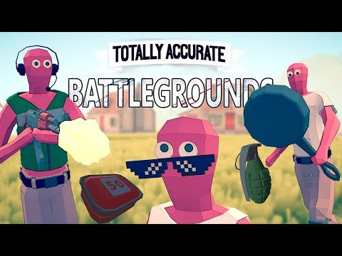TOTALLY ACCURATE BATTLEGROUNDS : La parodie du battle royale