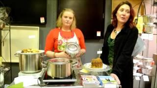 Koken & Wonen demonstratie poffert maken
