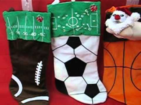 DanDee Musical Christmas Sports Stockings - YouTube