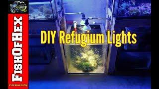 DIY Refugium Light for $13.00 | Fish Room Setup Part 7