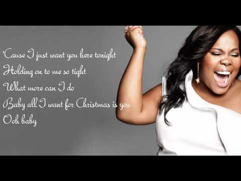 Клип Glee Cast - All I Want for Christmas Is You
