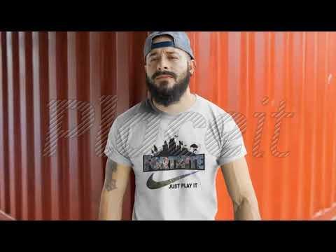 Fortnite Battle Royale X Nike Just Play It Logo Shirts