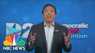 Watch Andrew Yang's Full Speech At The 2020 DNC | NBC News