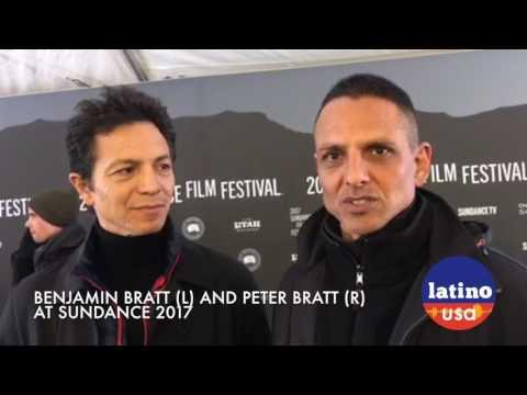Sundance 2017  Benjamin Bratt L and Peter Bratt R