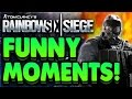 Rainbow Six Siege - Funny Clips, Funny Deaths, OH HELL NO!
