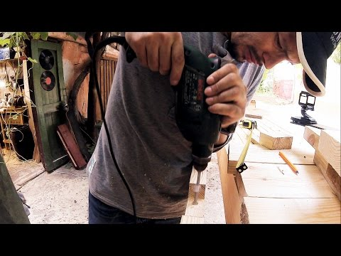 Drilling holes and mail time | ADWOODS VLOG #024