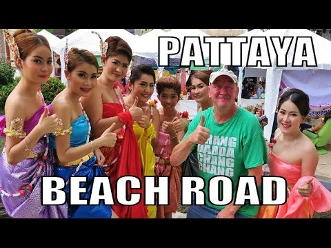 Pattaya Beach Road Thailand. Canon Camera G7X Test.