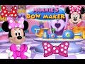 Disney Minnie Mouse Game Episode Minnie's Bow Maker Kids Online Games