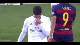 • Isco Fouls Against Neymar. Red Card | Patadón de Isco a Neymar • El Cásico •  21/11/15