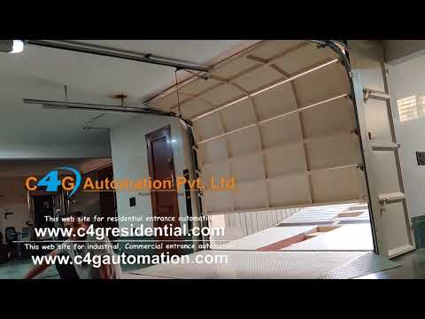Automatic Sectional Garage