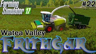 Let's Play Farming Simulator 2017, Watea Valley #22: Claas Jaguar 840 Forager!
