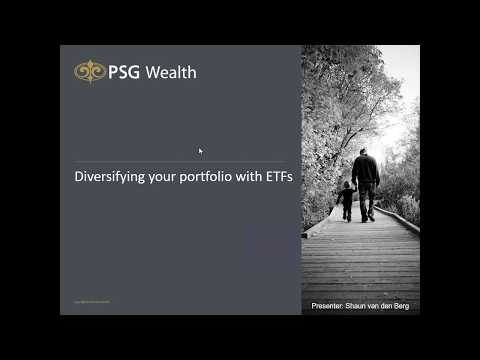 Diversifying your portfolio with ETFs