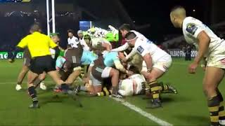 Harlequins 33-28  Wasps - European Rugby Champions Cup