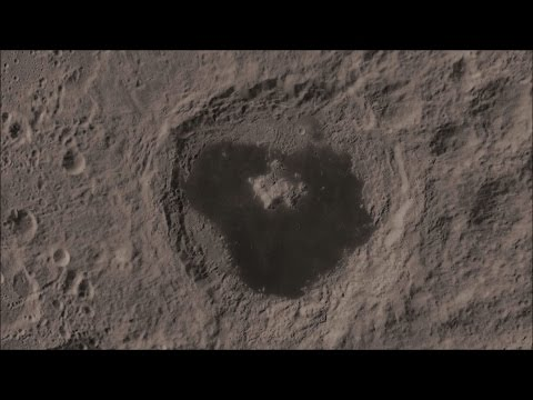 The Moon: Tsiolkovsky Crater