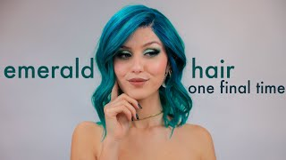 Emerald Hair one final time (sort of)