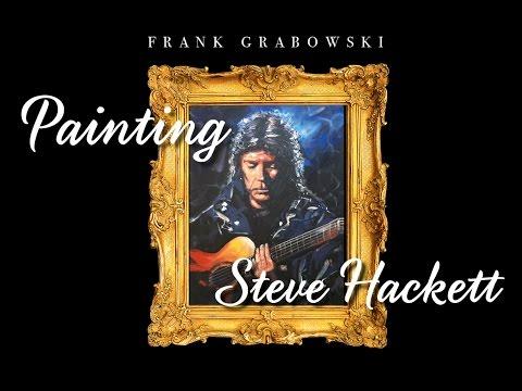 Painting Steve Hackett