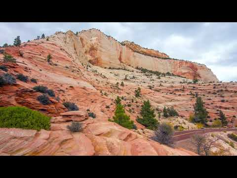 (Zion National Park) 4K Nature Made By Algerian
