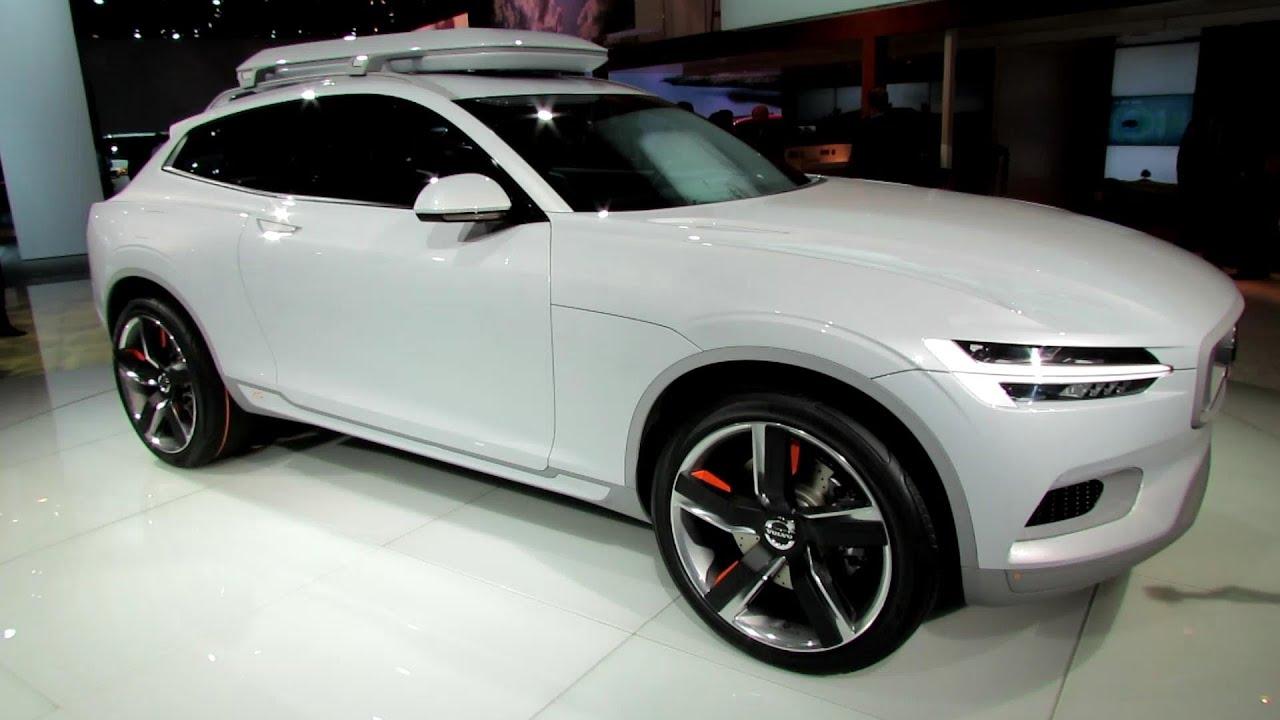 2015 Volvo Xc Coupe Concept Exterior Walkaround Debut