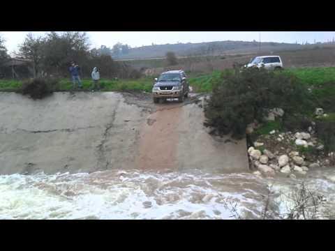 water test-Patpol vs padjero sport  israel