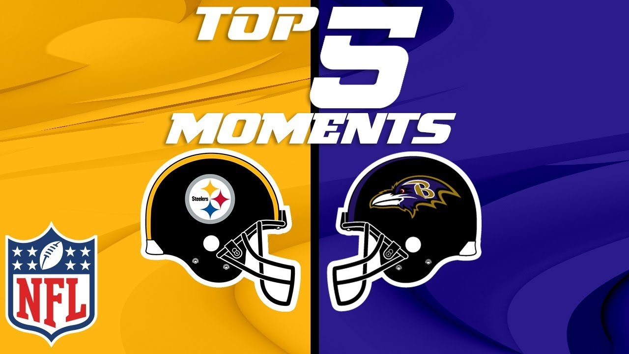 brand new 8197c 001b2 Steelers vs. Ravens: Top 5 Moments from the AFC North Rivalry | NFL  Highlights