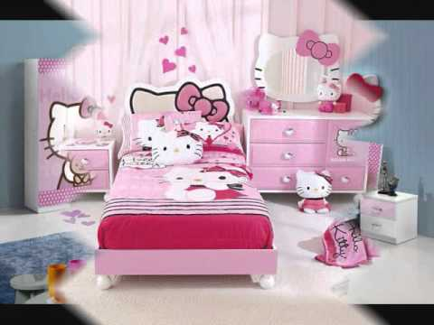 Girl room decoration ideas hello kitty youtube - Decoration hello kitty chambre bebe ...