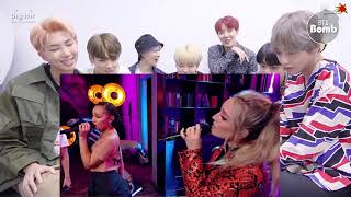BTS KOREA REACTION Little Mix - Think About Us (at the BRITs Are Coming)