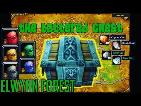 Classic Vanilla WoW Treasure Chests | Elwynn Forest World Of Warcraft