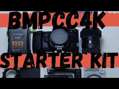blackmagic-pocket-cinema-camera-4k-starter-kit---full-cinema-rig-build-for-new-cinematographers!