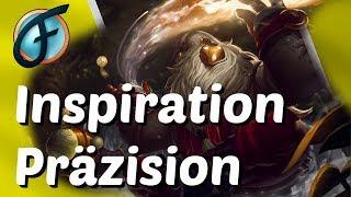 Bard Support Preseason 8 Inspiration Präzision Runen Gameplay German