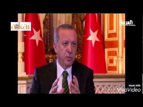 Erdogan interview on Al Arabia TV