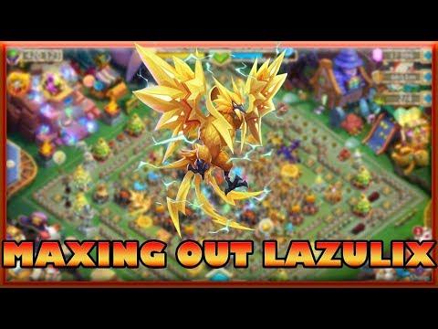 Castle Clash: Maxing Out Lazulix