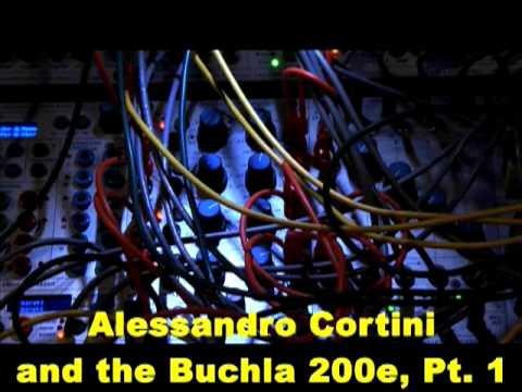 Alessandro Cortini and the Buchla 200e, Part 1