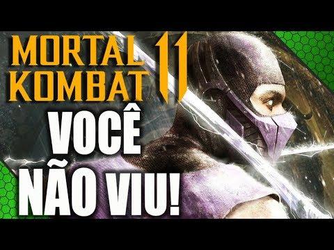 PERSONAGENS QUE VOCÊ NÃO VIU EM MORTAL KOMBAT 11! thumbnail