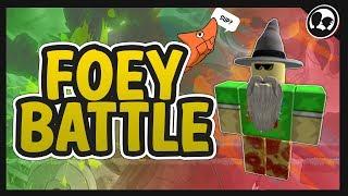 BATTLING FOEY! | Roblox: Pokemon Brick Bronze