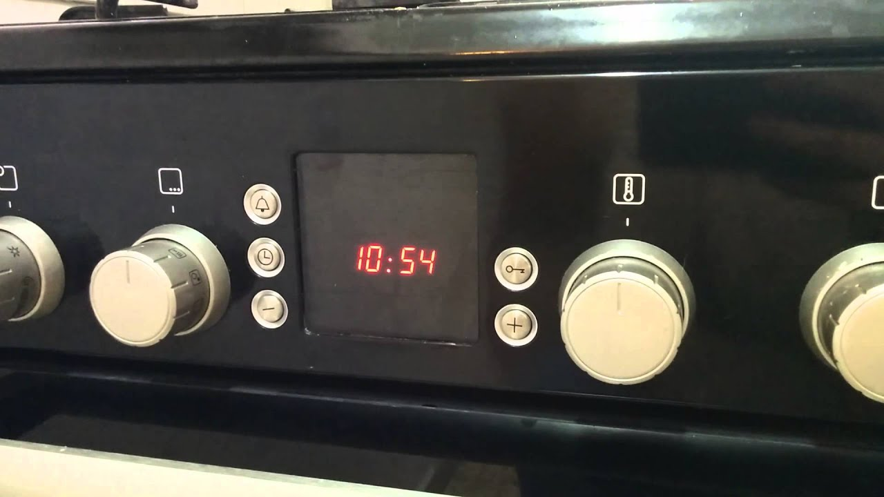 Bosch Gasfornuis Met Oven Setting The Clock On A Bosch Oven