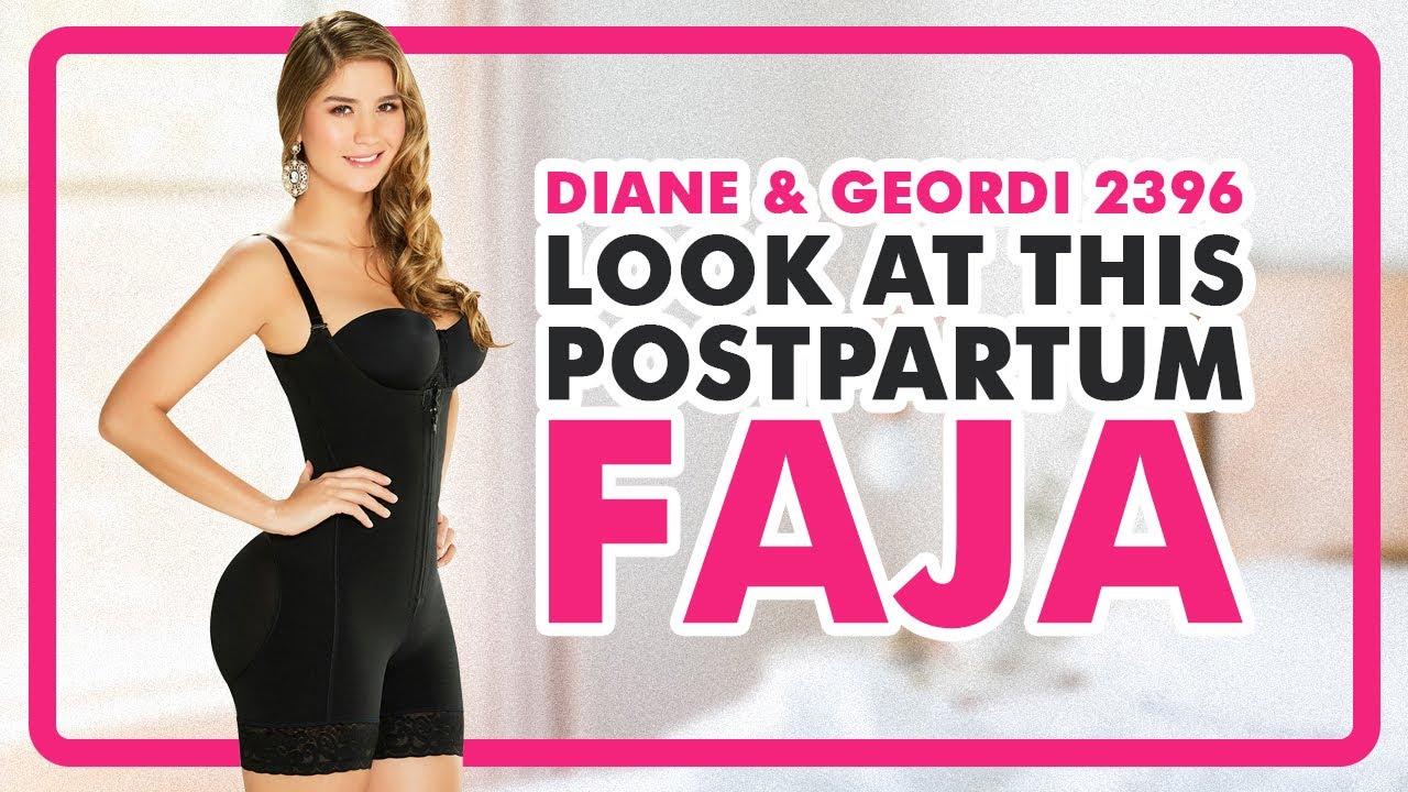 bcd96bf934757 Fajas Colombianas Diane   Geordi 2396 Women s Liposuction Bodyshaper -  YouTube