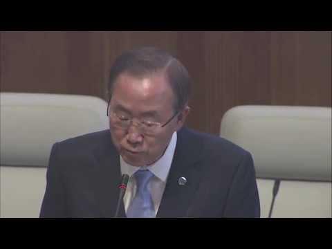 """SYRIA: """"GIVE PEACE A CHANCE"""" BAN KI-MOON to UN SECURITY COUNCIL"""