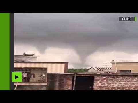 Chine : deux puissantes tornades dévastent tout sur leur passage dans la région de Guangdong