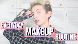 My Everyday Makeup Routine | Teenage Boy