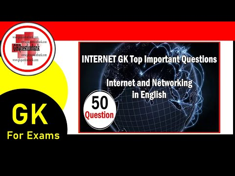 Internet and Networking Top 50 Questions Answers - GKQUESTIONBANK